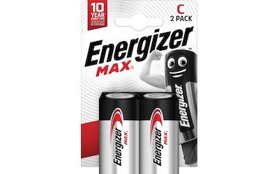 Energizer Max C 2 kpl alkaliparisto