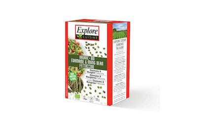 Explore Cuisine Luomu Edamame & Mungpapu fettuccine gluteeniton 200g