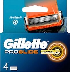 Gillette Fusion5 Proglide Power terä 4kpl