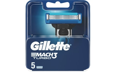 Gillette Mach3 Turbo terä 5kpl