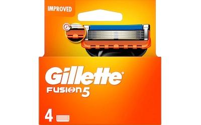 Gillette Fusion5 teräpakkaus 4 kpl