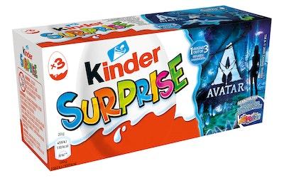 Kinder Surprise 3-pack 60g