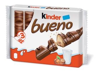 Kinder Bueno 3-pack suklaapatukka 129g