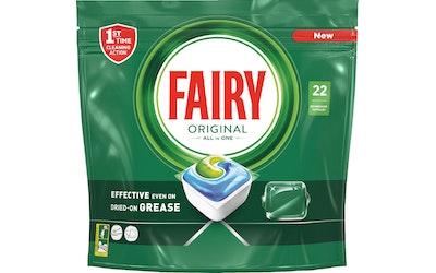 Fairy Original All in One konetiskitabletti 22 kpl