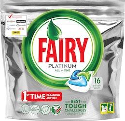 Fairy Platinum All in One Original astianpesuainetabletti 16 kpl