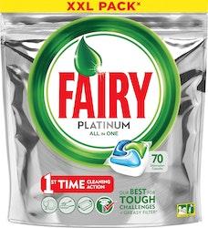 Fairy 70kpl Platinum All-in1 Original konetiskitabletti