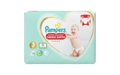 Pampers 35kpl Premium Protection Pants S3 (6-11kg) housuvaippa