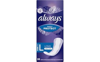 Always Large Extra Protect pikkuhousunsuoja 26 kpl