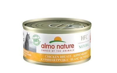Almo Nature HFC natural kissan märkäruoka 70g kananrinta