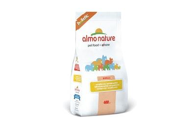 Almo Nature Holistic kissanpennun kuivaruoka 400g kana-riisi