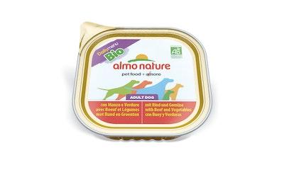 Almo Nature koiran ras DM 300g nauta-vihannekset luomu