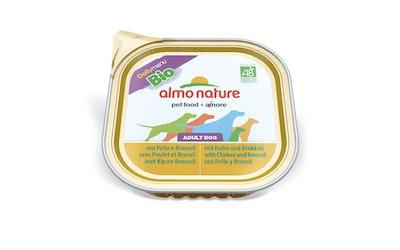Almo Nature koiran ras DM 300g kana ja parsakaali luomu