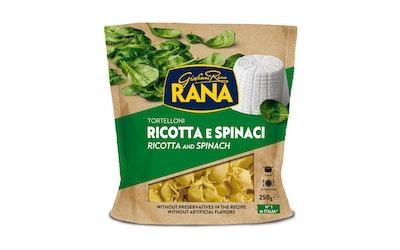 Rana tortellini ricotta-juusto & pinaatti tuorepasta 250g