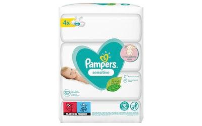 Pampers Sensitive puhdistuspyyhe 320kpl