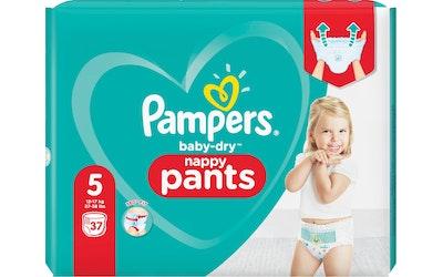 Pampers housuvaippa 37kpl BabyDry pants S5 12-17kg