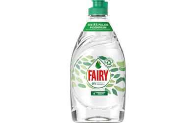 Fairy astianpesuaine 450ml 0% tuoksuja ja väriaineita