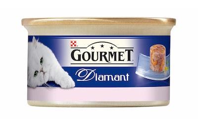 Gourmet Diamant Tonnikalaa Katkarapuhyytelössä 85g kissanruoka