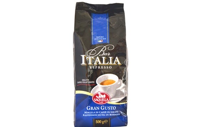 Saquella espressopapu 500g gran gusto