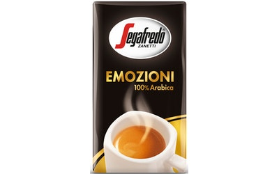 Segafredo Emozioni kahvi 250g 100% Arabica erittäin hienojauhatus