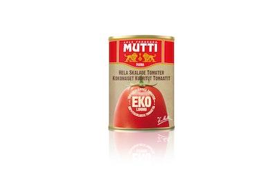 Mutti Kokonaisia kuorittuja tomaatteja 400 g luomu