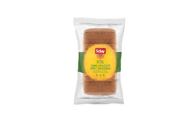 Schär vital tumma leipä 350g gluteeniton