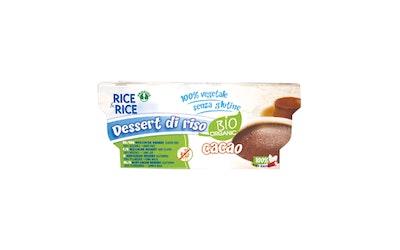 Rice-Rice riisivanukas 2x100g suklaa luomu