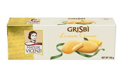Vicenzi Grisbi sitruunatäytekeksi 150g