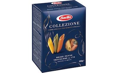 Barilla Mezze Penne tricolore pasta 500g