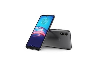 Motorola Moto E6i älypuhelin harmaa - kuva