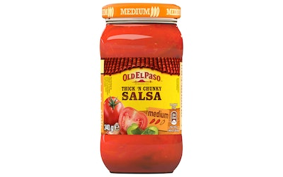 Old El Paso 340g Thick and Chunky Original Salsa Medium