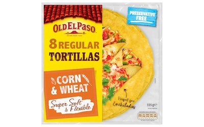 Old El Paso Maissitortilla 335g Medium