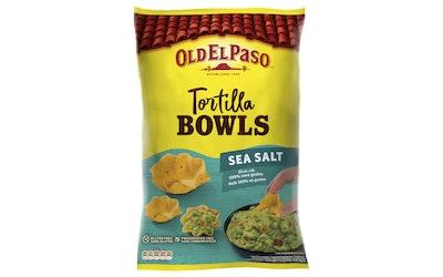 Old El Paso Tortilla Bowls seasalt 150g