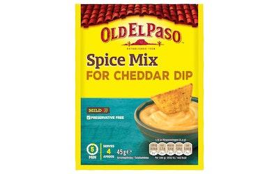 Old El Paso Cheddar Dip Mix 45g