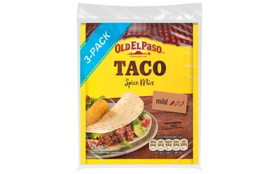 Old El Paso Taco mausteseos 3x25g