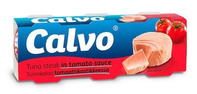 Calvo tonnikala tomaattikastikkeessa 3 x 80g