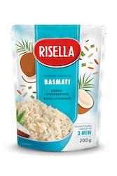 Risella Basmati valmisriisi kookos-sitruunaruoho 2 minuuttia 200 g