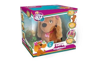 Lucy laulava & tanssiva koiranpentu