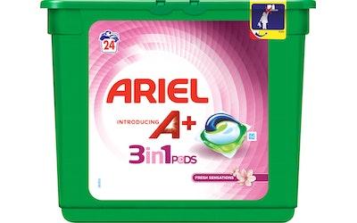 Ariel Pods nestemäinen pyykinpesutabletti 24kpl 3in1 Fresh Sensations