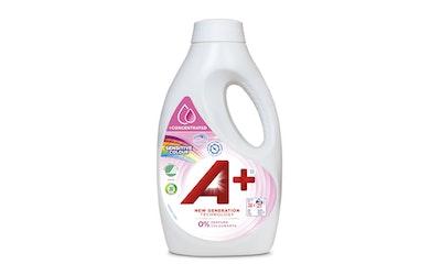 A+ pyykinpesuneste 1520ml Sensitive Color