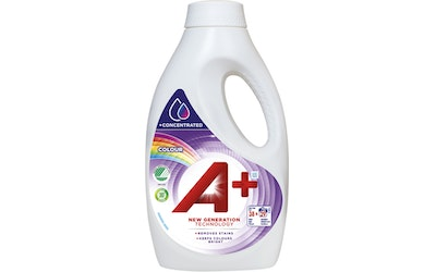 A+ pyykinpesuneste 1520ml Color