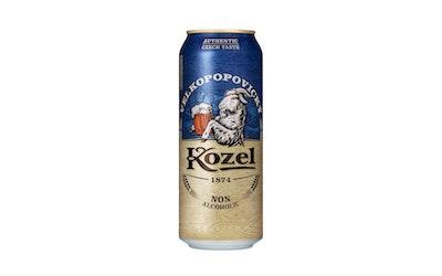Velkopopovicky Kozel alkoholiton olut 0,5% 0,5l