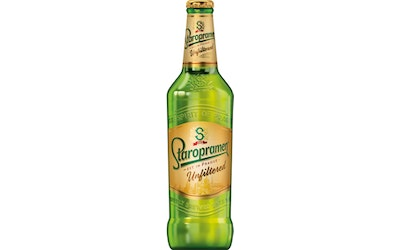 Staropramen Unfiltered 5% 0,5l
