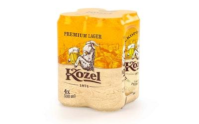 Velko Kozel Premium 4,6% 0,5l 4-pack