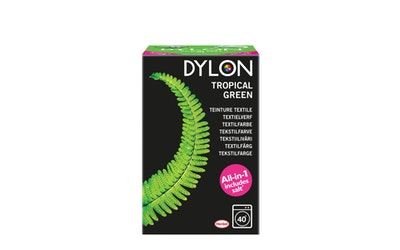 Dylon 350g Tropical Green tekstiiliväri