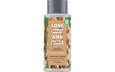 Love Beauty and Planet shampoo 400ml Happy and Hydrated