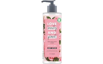 Love Beauty and Planet vartalovoide 400ml Delicious Glow