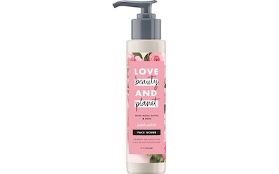 Love Beauty and Planet kuorintavoide 125ml Face Scrub Petal Polish - kuva