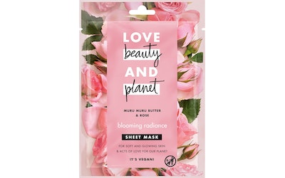 Love Beauty and Planet kangasnaamio Blooming Radiance - kuva