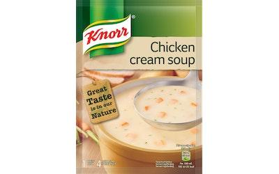 Knorr suurustettu kanakeitto keittoainekset 61g