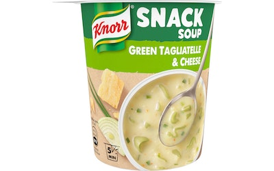 Knorr Snack Soup Green Tagliatelle & Cheese 52g